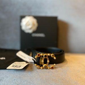 Chanel Leather Belt (Color: K1223)